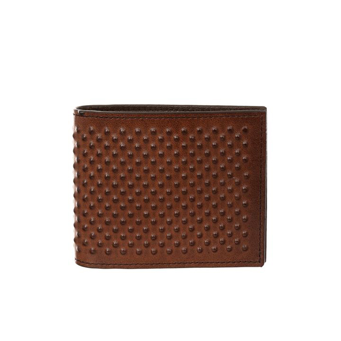 ALEXANDER MCQUEEN MEN LEATHER WALLET NOTES CLIP