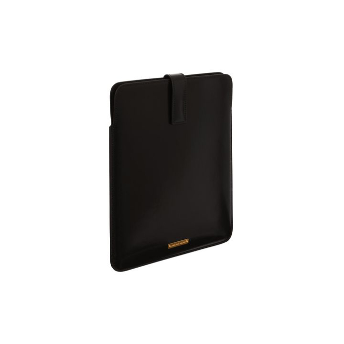ALEXANDER MCQUEEN MEN GLOW CASE WEB LEATHER TABLET