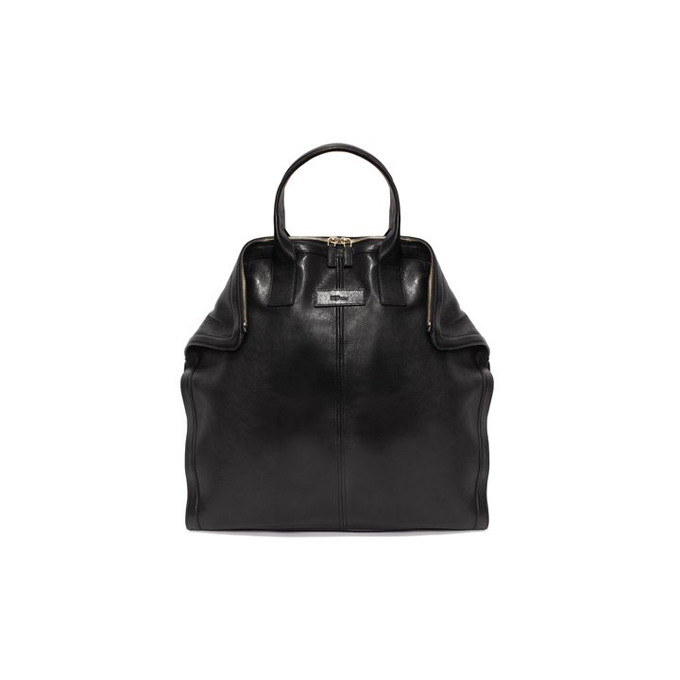 ALEXANDER MCQUEEN MEN LEATHER TOTE DE MANTA