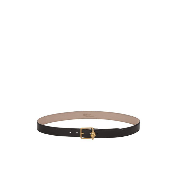 ALEXANDER MCQUEEN MEN SKULL BELT BUCKLE