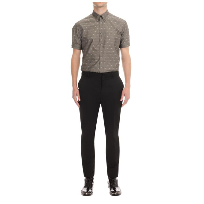 ALEXANDER MCQUEEN MEN WOOL TROUSERS SUIT