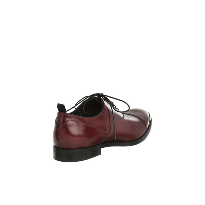 ALEXANDER MCQUEEN MEN ENGRAVED OXFORDS TOE-CAP