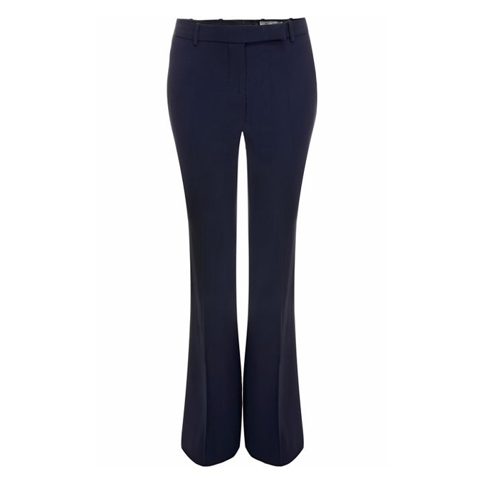 ALEXANDER MCQUEEN WOMEN BOOT-CUT PANTS