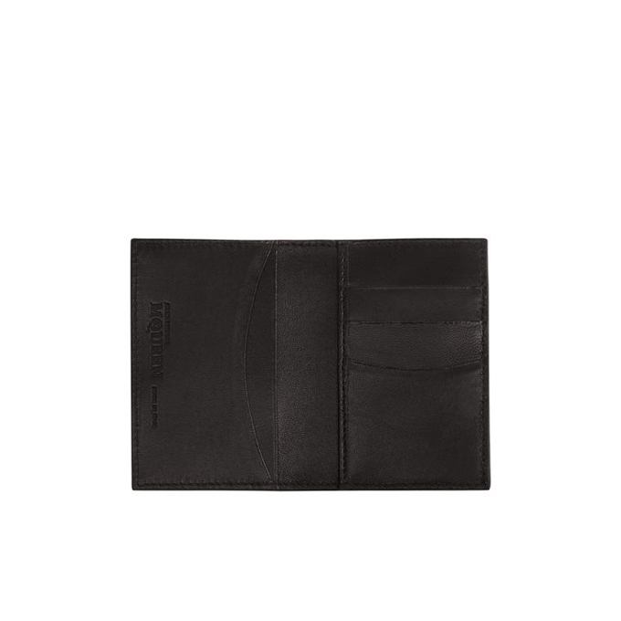 ALEXANDER MCQUEEN MEN LEATHER POCKET ORGANIZER COVERED STUDDED