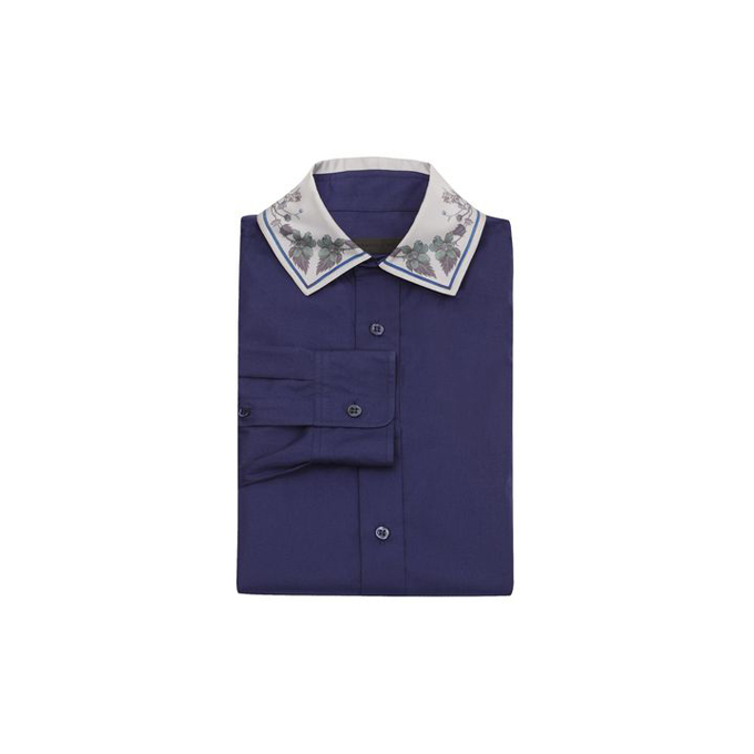 ALEXANDER MCQUEEN MEN PRINTED SHIRT FLORAL COLLAR