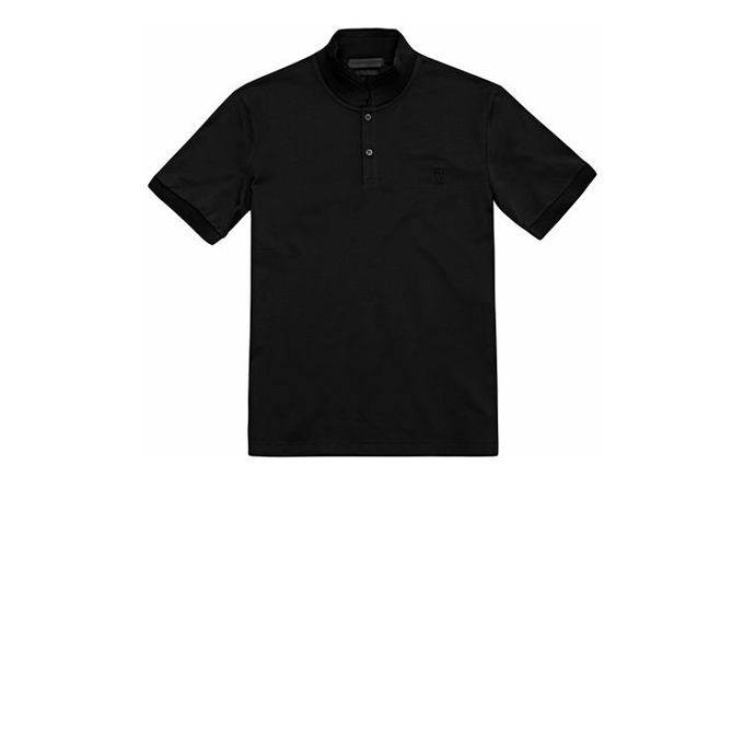 ALEXANDER MCQUEEN MEN PIQUET POLO-SHIRT COTTON EMBROIDERED SKULL