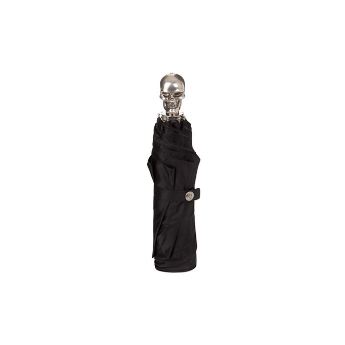 ALEXANDER MCQUEEN WOMEN SKULL HANDLE UMBRELLA