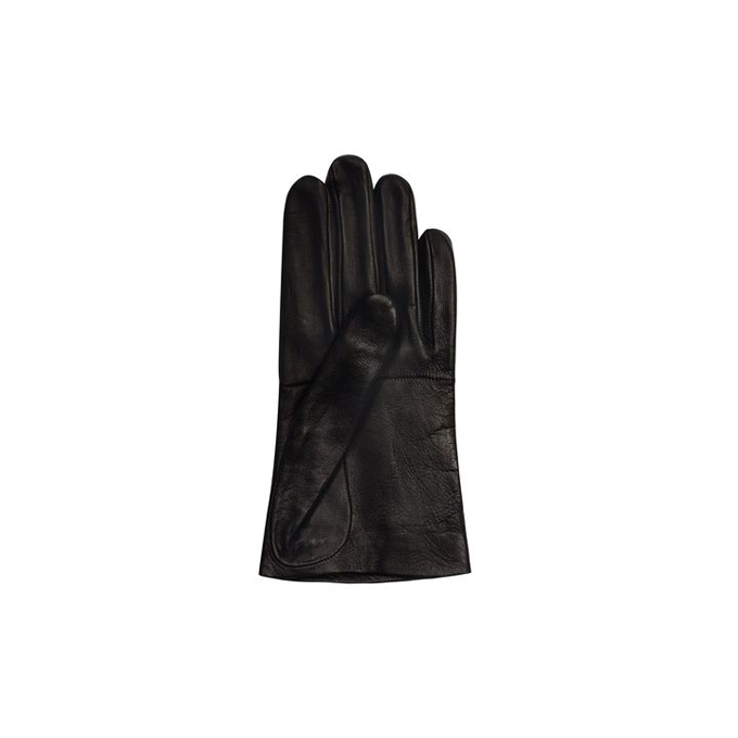 ALEXANDER MCQUEEN WOMEN CROPPED GLOVES LEATHER